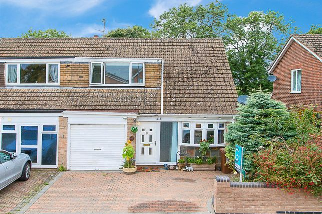 Thumbnail Semi-detached house for sale in Howe Crescent, Corby