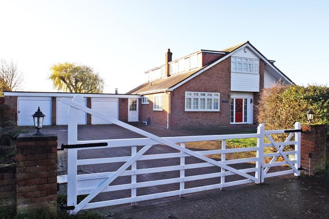 Thumbnail Detached house for sale in Peartree Lane, Bulphan, Upminster