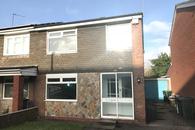 Thumbnail Semi-detached house to rent in Regis Heath Road, Rowley Regis