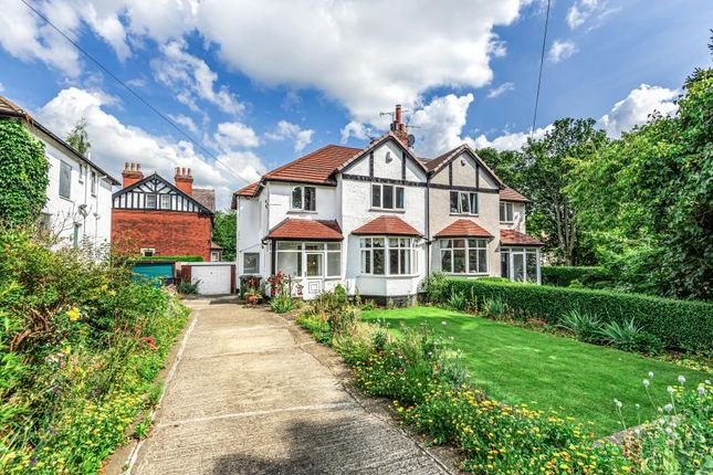 Thumbnail Semi-detached house for sale in Lidgett Mount, Roundhay, Leeds
