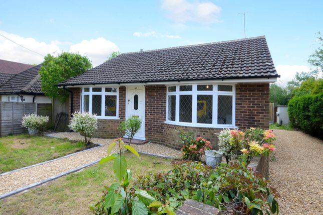 Thumbnail Detached bungalow to rent in Station Road, Ash, Aldershot