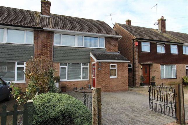 Thumbnail Semi-detached house for sale in Glebe Close, Pitstone, Leighton Buzzard