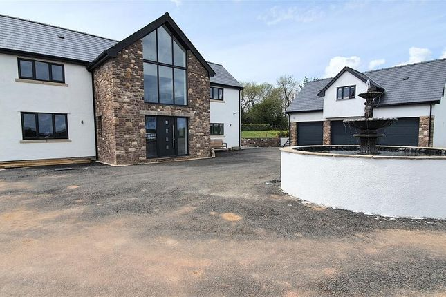 Thumbnail Detached house for sale in Channel View, Common - Y- Coed, Caldicot