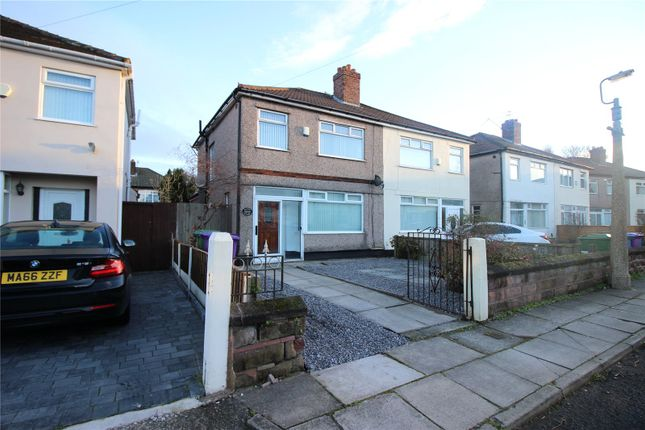 Thumbnail Semi-detached house to rent in Eaton Close, West Derby, Liverpool, Merseyside