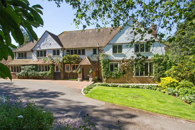 Thumbnail Detached house for sale in Tennyson's Ridge, Haslemere, Surrey