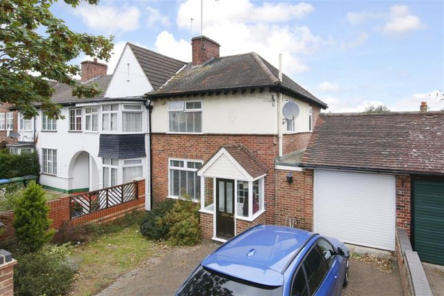 Thumbnail Semi-detached house for sale in Willrose Crescent, Abbey Wood, London