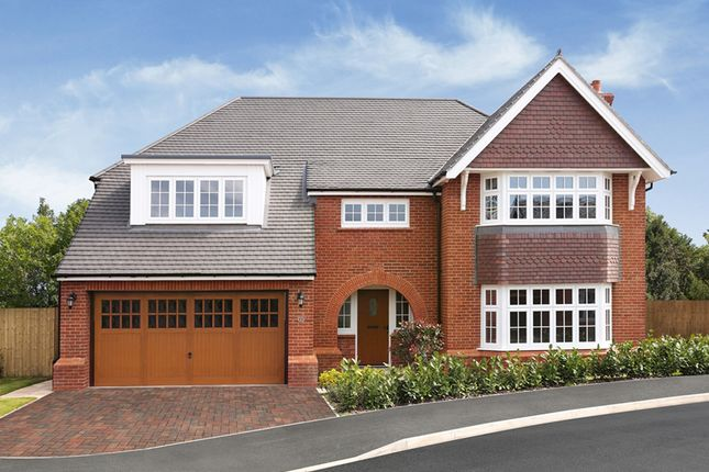 "Thumbnail 5 bed detached house for sale in ""Buckingham"" at Chester Road, Woodford, Stockport"