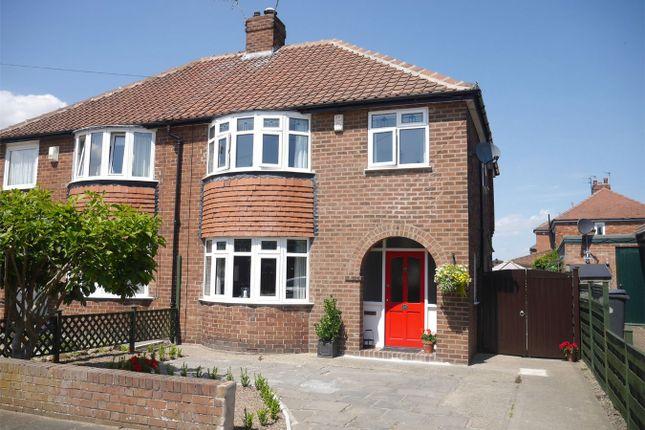 Thumbnail Semi-detached house for sale in Grayshon Drive, Acomb, York