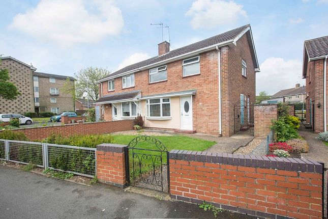 Thumbnail Semi-detached house for sale in Farmstead Road, Corby