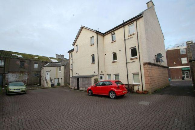 Rear View of Bannatyne Street, Lanark ML11
