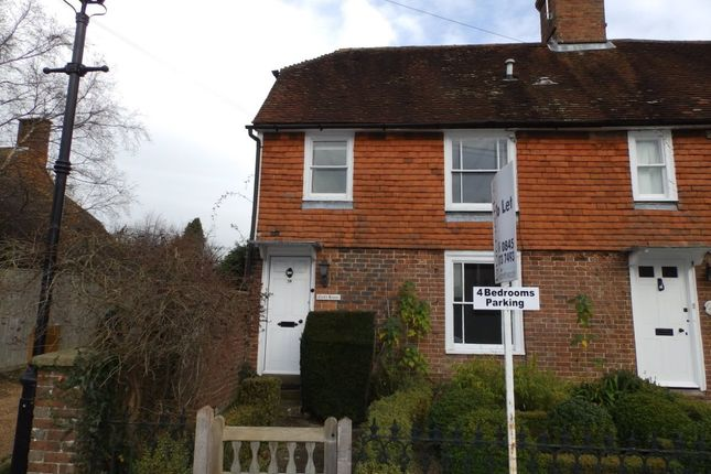 Thumbnail Semi-detached house to rent in High Street, Ticehurst, Wadhurst