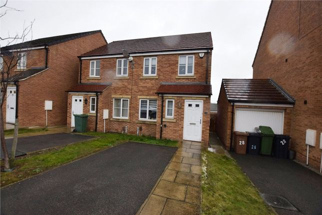 Thumbnail Terraced house to rent in Whinmoor Way, Leeds, West Yorkshire