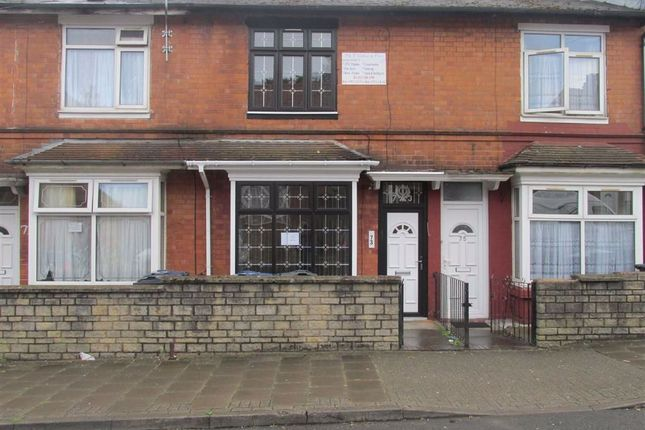 4 bed terraced house to rent in Victoria Road, Handsworth, Birmingham B21