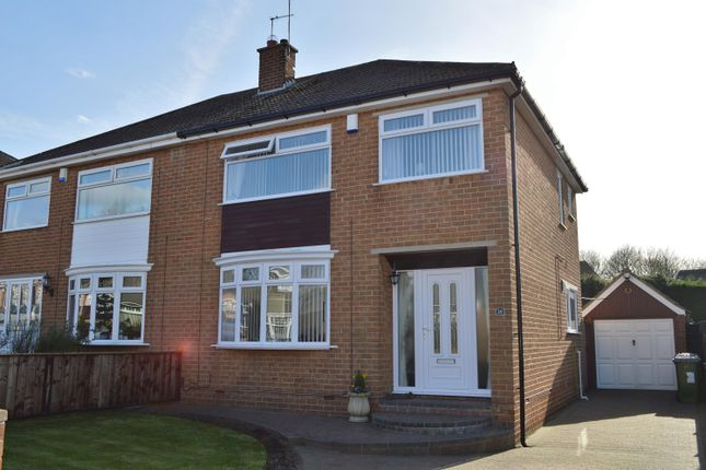 Thumbnail Semi-detached house for sale in Regency Avenue, Normanby, Middlesbrough