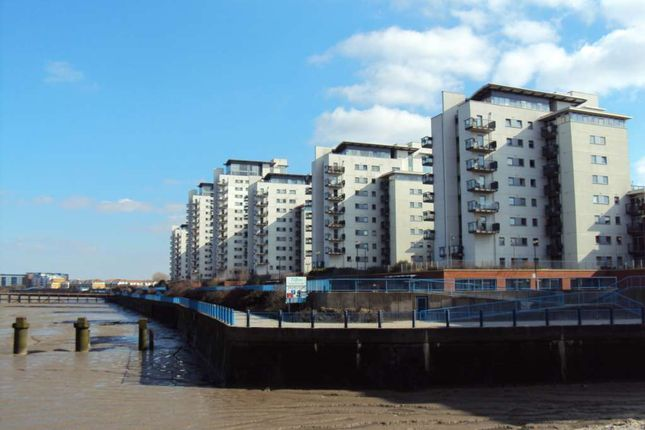 Thumbnail Flat to rent in Available Now - Erebus Drive, Royal Artillery Quays, Riverside