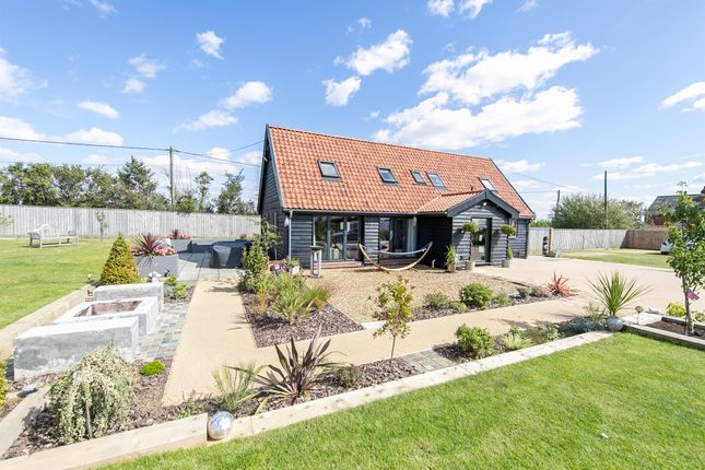 Thumbnail Detached house for sale in Hare & Hounds Corner, Hemingstone, Ipswich