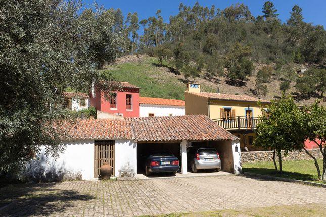 Parking of Alferce, Monchique, Portugal