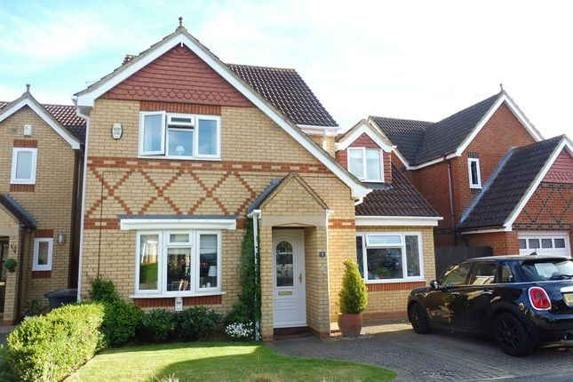 Thumbnail Detached house for sale in Flinters Close, Wootton, Northampton