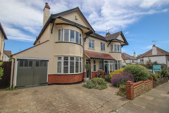 Thumbnail Semi-detached house for sale in Hillway, Westcliff-On-Sea