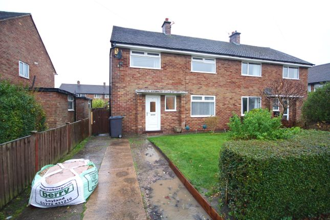 Thumbnail Semi-detached house to rent in Greenfield Drive, Lostock Hall, Preston