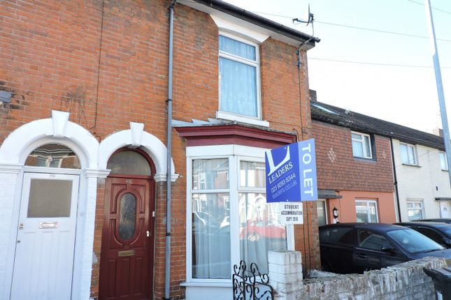 Thumbnail Terraced house to rent in Orchard Road, Southsea