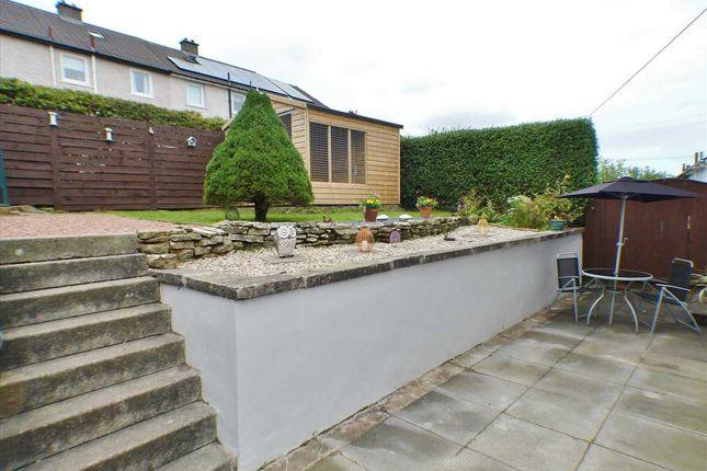Garden of Cloverhill View, West Mains, East Kilbride G74