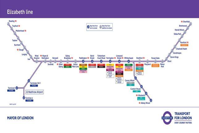 Crossrail Map of Panfield Road, London SE2