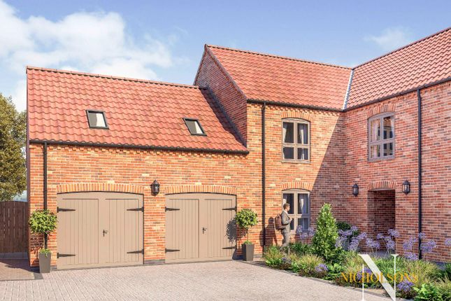 Thumbnail Semi-detached house for sale in Plot 9 Field View Gardens, Ranskill, Retford, Nottinghamshire