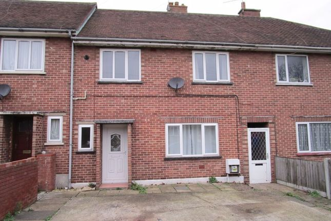 Thumbnail Terraced house to rent in Montgomery Avenue, Lowestoft