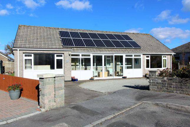 Thumbnail Detached bungalow for sale in Caradon Close, Callington