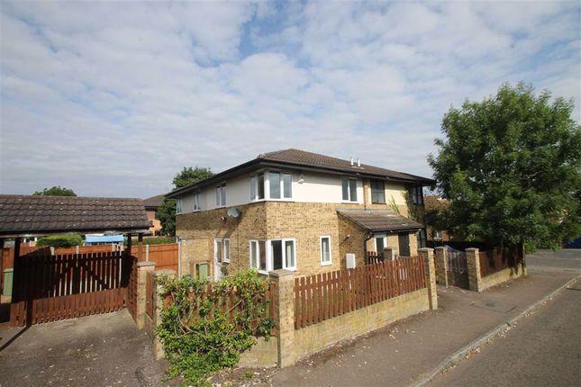 Thumbnail Terraced house to rent in Hepleswell, Two Mile Ash, Milton Keynes, Bucks