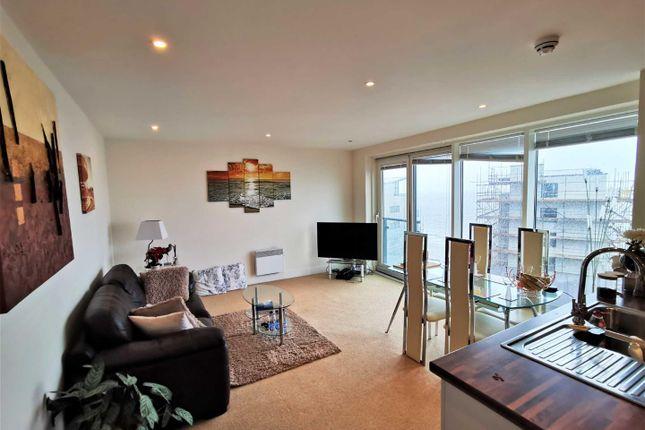 Thumbnail Flat for sale in Meridian Tower Trawler Road, Marina, Swansea