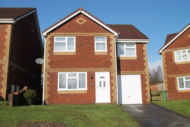 Thumbnail Detached house for sale in North Rising, Pontlottyn, Caerphilly Borough