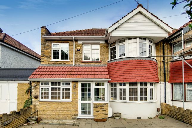 Thumbnail 5 bed semi-detached house for sale in Okehampton Crescent, Welling