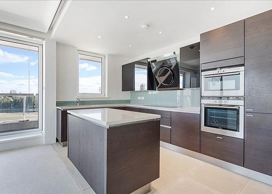 Kitchen of Chelsea Crescent, London SW10