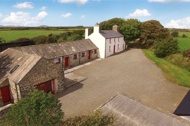 Thumbnail Farmhouse for sale in Ffynnondewi & Ty Dewi, Solva, Haverfordwest, Pembrokeshire