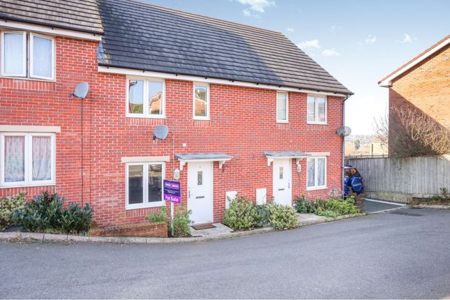 Thumbnail Terraced house for sale in Waterside Close, East Cowes
