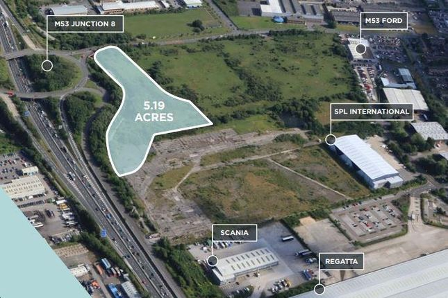 Land to let in Pioneer Business Park, North Road, Ellesmere Port, Cheshire