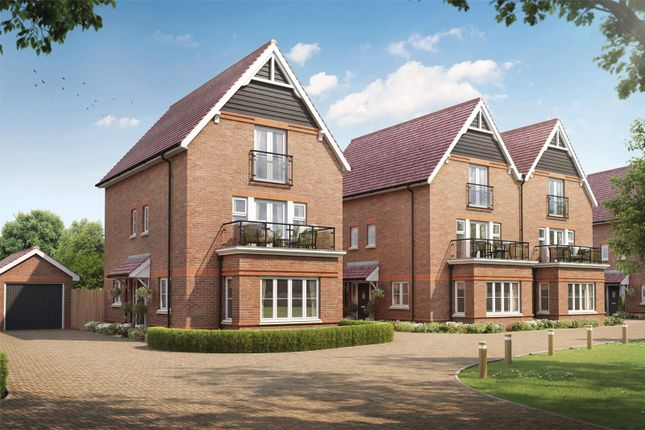 Thumbnail Semi-detached house for sale in Montague Place, Keens Lane, Guildford, Surrey