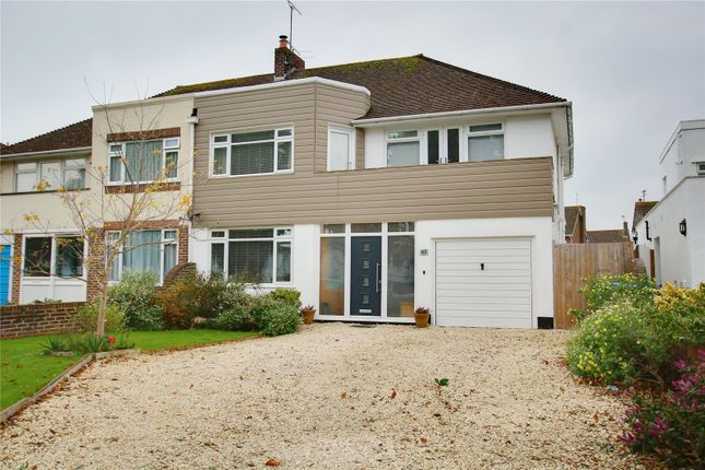 Thumbnail Semi-detached house for sale in Sea Lane, Goring By Sea, Worthing, West Sussex