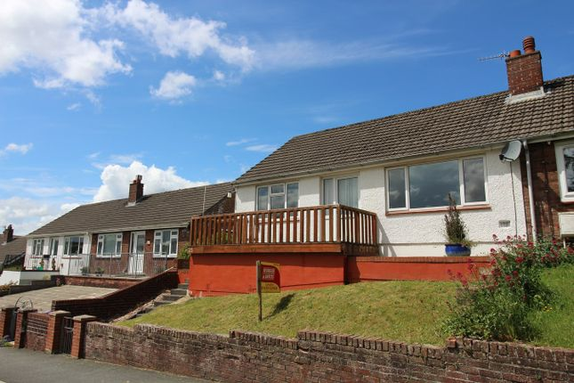 Thumbnail Semi-detached bungalow for sale in Lampeter, Ceredigion