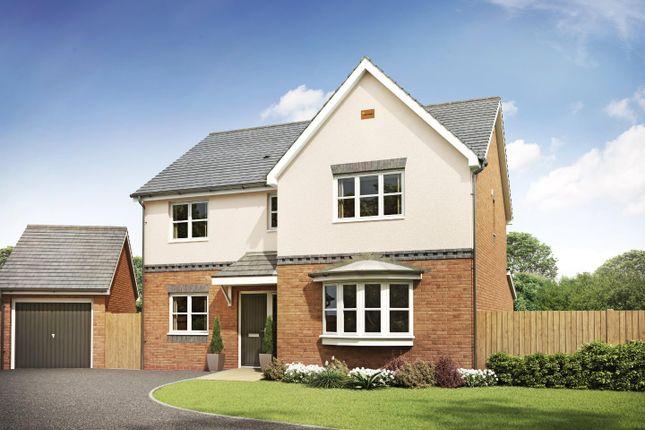 4 bed detached house for sale in Plot 42 Woodlark. Birmingham Road, Ansley, Nuneaton CV10
