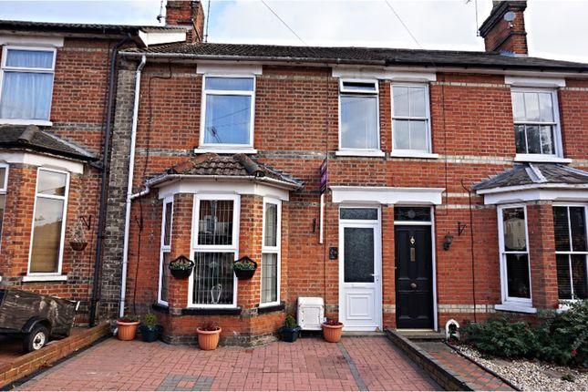 Thumbnail Terraced house for sale in Warwick Road, Ipswich