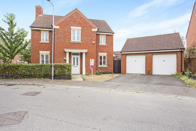 Thumbnail Detached house for sale in Anthony Nolan Road, King's Lynn