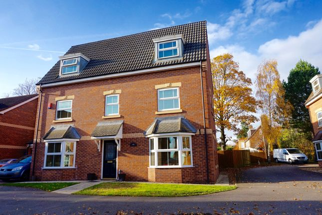 Thumbnail Detached house for sale in Hayfield Court, Doncaster