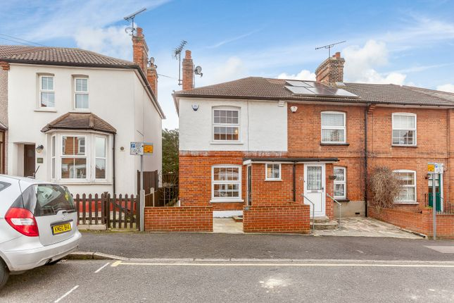 Thumbnail End terrace house for sale in Chase Road, Brentwood