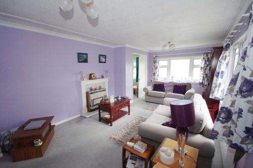 Lounge of Selwood Park, Kinson, Dorset BH10
