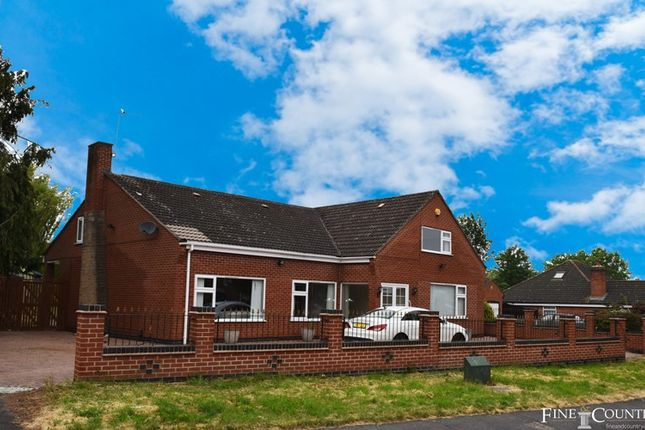 Thumbnail Bungalow for sale in Eastfield Road, Thurmaston