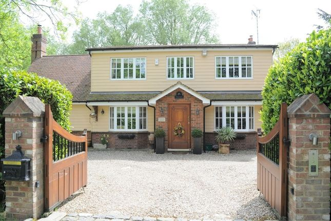 Thumbnail Detached house for sale in Old Roxwell Road, Writtle, Chelmsford, Essex