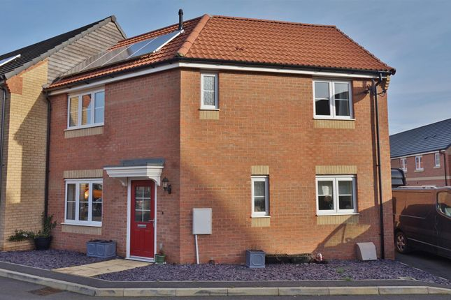 Thumbnail Semi-detached house for sale in Farrer Way, Barleythorpe, Oakham